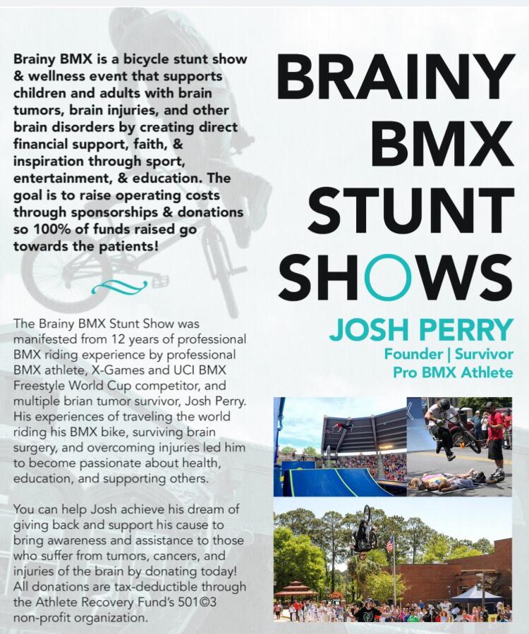 Brainy BMX – Providing Support & Inspiration