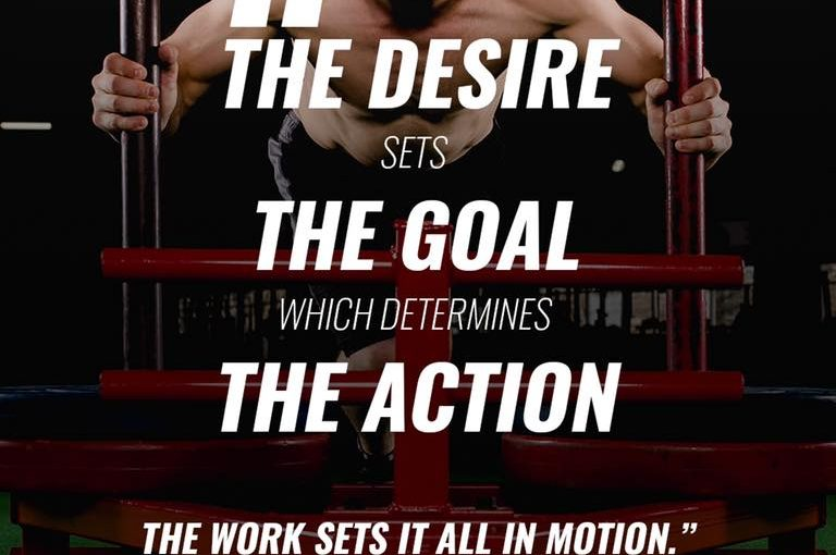 Desire>Goal>Action=Set In Motion